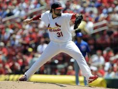 Cardinals starter Lance Lynn improved to 12-4 on the season, pitching six scoreless innings in a Cardinals win.