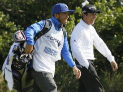 Carlos Tevez was photographed numerous times on the golf course when he was on unauthorized leave from Manchester City last season, having fallen out with manager Roberto Mancini.
