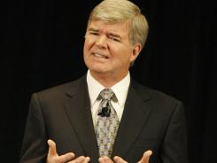 NCAA President Mark Emmert explains the association's actions against Penn State.