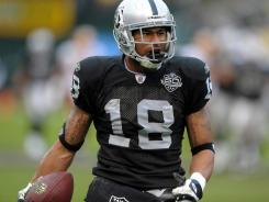 In three seasons with the Raiders, WR Louis Murphy caught 90 balls for 1,371 yards and six TDs.