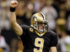 Drew Brees and the Saints agreed to a five-year contract worth approximately $100 million at the last minute this offseason.