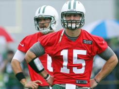 How will the experiment in New York work between Tim Tebow (15) and Mark Sanchez? Time will tell.