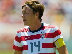 USA forward Abby Wambach is more intent on chasing gold than ever this year after missing the 2008 Games.