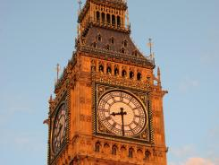 Big Ben will be ringing its bell along with the rest of England at 8:12 local time Friday morning to welcome the Olympics.
