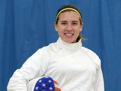 Hurley will compete in her first Olympics in London. On Tuesday she was training at the University of East London.