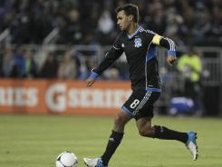 San Jose Earthquakes forward Chris Wondolowski is one of the many players who like the current MLS All-Star Game format