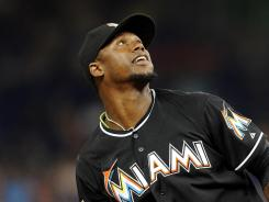 Floundering: Marlins third baseman Hanley Ramirez, a three-time All-Star and former batting champion, was hitting .246 this season. Ramirez, shown July 13, has also struggled defensively after moving from shortstop.