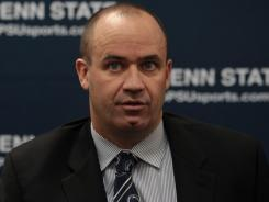 Penn State coach Bill O'Brien has a big challenge ahead with the football program being banned from the postseason for the next four seasons.