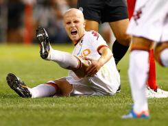 Michael Bradley, a 24-year-old American, scored for Roma, his first goal for the club since recently transferring from Chievo Verona.