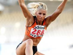 Triple-jumper Voula Papachristou didn't travel with Greece's Olympic team after a controversial tweet.