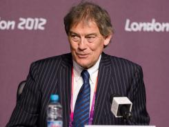 David Howman, Director General of the World Anti-Doping Agency, speaks to the media during a press conference Wednesday.