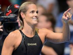 Dara Torres has won four gold, four silver and four bronze medals in five Olympics, stretching from 1984 to 2008.