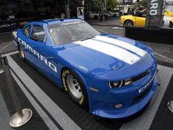 Chevrolet on Thursday unveiled its Camaro that will run next year in the Nationwide Series.