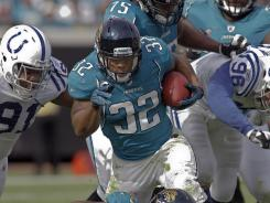 Jacksonville Jaguars running back Maurice Jones-Drew is holding out for a new contract. He has two-years left on his current deal.