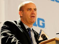 "Bill O'Brien says he has ""no idea"" which schools are recruiting his players, ""nor do I care."""
