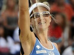Kerri Walsh is back with partner Misty May-Treanor in search of a third gold medal in women's beach volleyball.