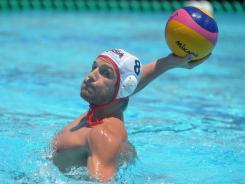 U.S. captain Tony Azevedo has many medals, but no gold yet in Olympic water polo.