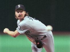 Randy Johnson pitched in Seattle from 1989-1998, winning 130 games to just 74 losses.