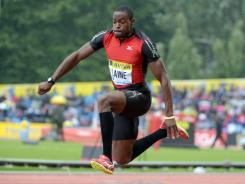Samyr Laine, Facebook CEO Mark Zuckerberg's old roommate, is competing for Haiti at the London Games in the triple jump.