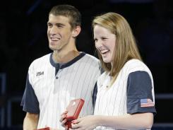 "Michael Phelps and Missy Franklin star in USA Swimming's version of ""Call Me Maybe?"""