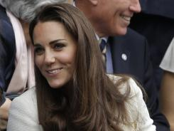 Kate Middleton, Duchess of Cambridge, will be at the opening ceremony.