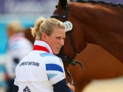 Zara Phillips was selected to the Olympic team in 2008 with horse Toytown but had to withdraw as the horse went lame.