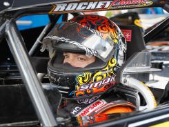 Tony Stewart prepares to drive at the Prelude to the Dream at Eldora Speedway on June in Rossburg, Ohio.