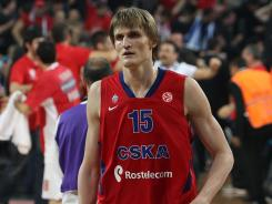 Andrei Kirilenko played for CSKA Moscow last season.
