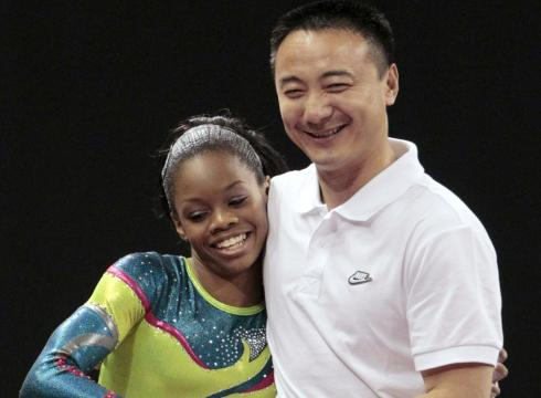 Gabrielle Douglas and liang chow