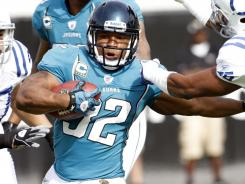 Maurice Jones-Drew ran for 1,606 yards with eight touchdowns last season.