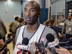 Kobe Bryant finally said he thinks the Dream Team was better than this year's Team USA squad. But he said he and his teammates could win one game against the team featuring Michael Jordan and Magic Johnson that played in the 1992 Barcelona Games.