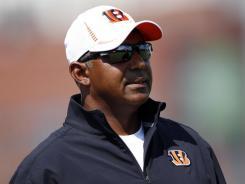 Cincinnati Bengals coach Marvin Lewis.