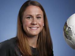 Team USA women's soccer player Heather O'Reilly said the Americans are focused on getting to London for the gold medal match. They first must play at preliminary sites around the United Kingdom.