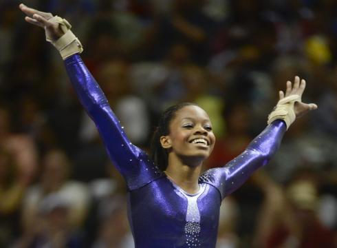 Gabby Douglas, full of personality and energy, is one of the favorites