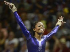 Gabby Douglas, full of personality and energy, is one of the favorites for the women's all-around title at the London Games.