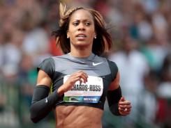 Sanya Richards-Ross was part of a Twitter campaign demanding changes in an Olympic rule regarding sponsorship.