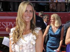 Brandi Chastain responded to criticism from Hope Solo by saying she is just doing her job as a TV analyst.