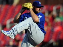 Jonathan Broxton has 23 saves in 27 chances with the Royals.