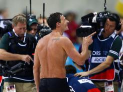 No spoilers, please: Ryan Lochte knew he won gold in the 400 individual medley Saturday, but NBC anchor Brian Williams drew ire for mentioning it before the race was televised on delay.