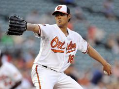 Wei-Yin Chen set a major league record for strikeouts by a Taiwanese-born pitcher.