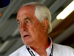 Roger Penske, pictured, says he'll meet with suspended A.J. Allmendinger this week.