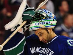 Canucks goalie Roberto Luongo remains on the trade market. Florida or Toronto could be destinations.