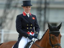 Zara Phillips is the granddaughter of Queen Elizabeth II.