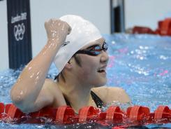 Female Chinese swimmer Shiwen Ye finished the freestyle leg so fast in winning the 400 IM that questions were raised on how she did it.