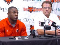 Less than two weeks ago, Michael Dyer and Arkansas State coach Gus Malzahn appeared at a news conference to announce Dyer's intention to stay with the team despite losing an appeal to the NCAA to play right away.