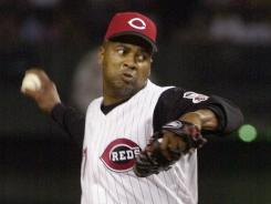 Jose Rijo was named World Series MVP in 1990 with the Reds.