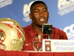 By dropping about 10 pounds from his playing weight of last year, Florida State defensive end Brandon Jenkins hopes to regain the form of his sophomore season when he was among the nation's leaders in sacks.