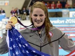 Missy Franklin won gold in the women's 100-meter backstroke on Monday, but NBC spilled the result just six minutes before airing the race on tape delay.
