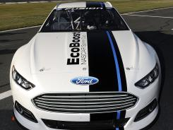 The 2013 Ford Fusion for Sprint Cup was unveiled Jan. 24 at Charlotte Motor Speedway.
