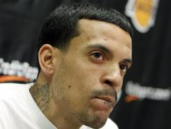 Matt Barnes has been released from jail after being arrested on suspicion of threatening a police officer who stopped him for a traffic warrant. Manhattan Beach police Sgt. Paul Ford says Barnes posted $51,000 bail and was released shortly before 11:30 p.m.